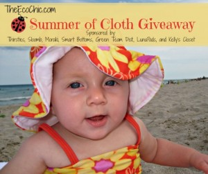 Summer of Cloth Giveaway @TheEcoChic