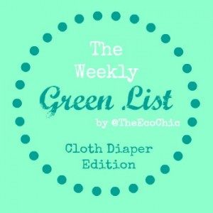 The Weekly Green List #1 – Cloth Diapers