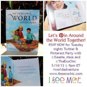 RSVP for #WorldAdventure Twitter Party with @ISeeMe_Maia