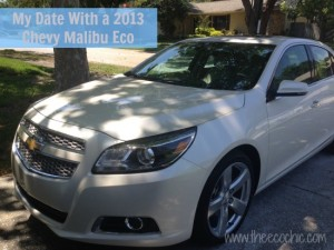 My Date With a 2013 Chevy Malibu Eco