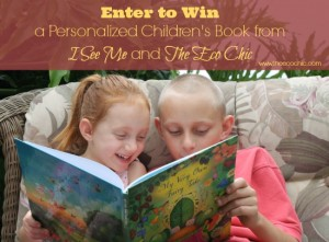Enter to Win a Personalized Children's Book from I See Me