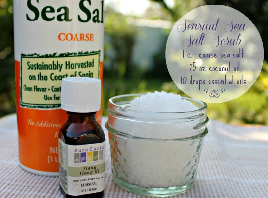 sensual sea salt scrub recipe