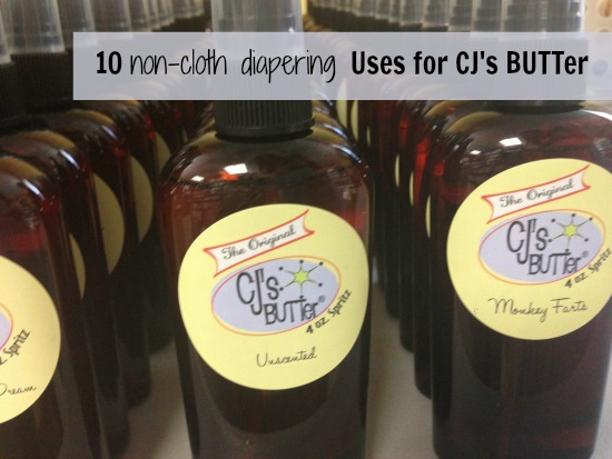 10 Uses for CJs BUTTer