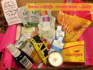 Review: ecocentric mom Subscription Box July