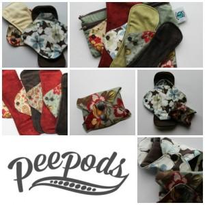 Giveaway: Peepods Reusable Menstrual Pads