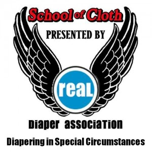 Cloth Diapering in Special Circumstances #schoolofcloth