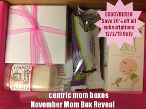 Cyber Monday EcoCentric Mom Coupon