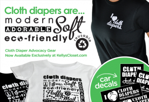 Cloth Diapers Advocacy Gear @DiaperShops