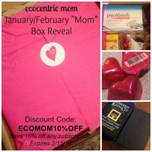 "ecocentric mom – Jan/Feb ""Mom"" Box Reveal & Coupon"