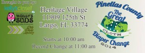 Great Cloth Diaper Change Pinellas County, Florida and Beyond!