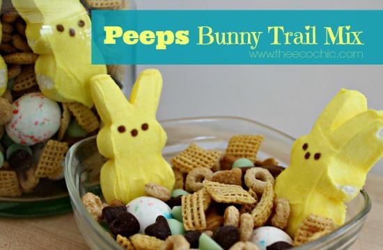 Peeps Bunny Trail Mix #peepsonality