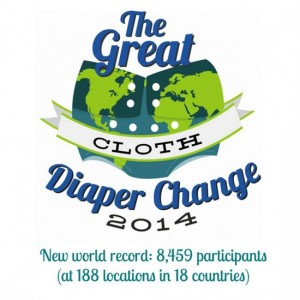 Great Cloth Diaper Change 2014 – Official Guinness World Record Results