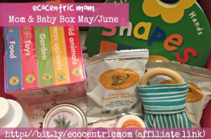 "EcoCentric Mom ""Mom & Baby"" Box Review May/June"