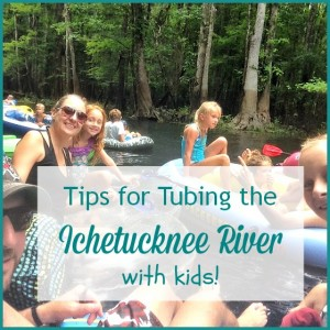 Tips for Tubing the Ichetucknee River with Kids