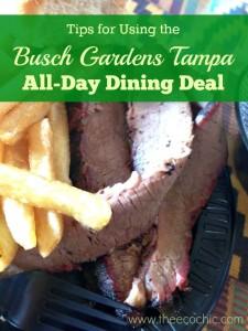 Busch Gardens All-Day Dining Deal
