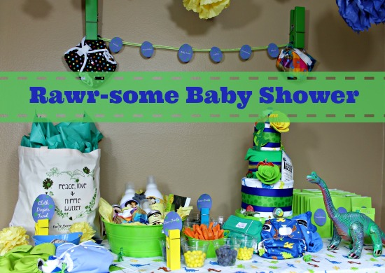 Amazing Cloth Diaper Baby Shower