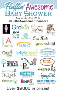Fluffin' Awesome Cloth Diaper Baby Shower Giveaway #FluffinAwesome