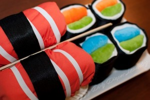 Diaper Sushi from Dirty Diaper Laundry
