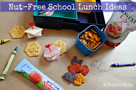 More Nut Free School Lunch Ideas @TheEcochic
