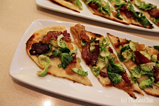 Brussels Bacon Flatbread #NewCPK #TBBloggers