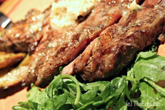 Fire Grilled Ribeye #NewCPK #TBBloggers