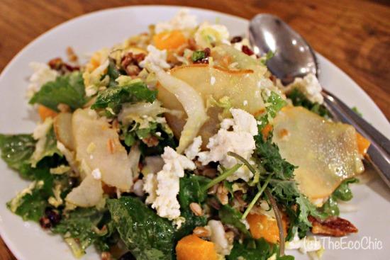 Harvest Kale Salad #NewCPK #TBBloggers