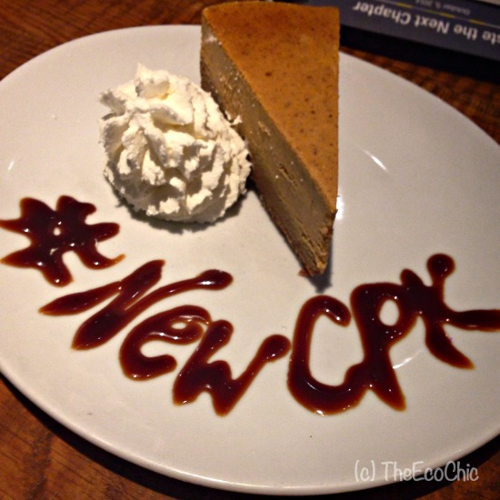 Pumpkin Cheesecake #NewCPK #TBBloggers