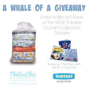 Thirsties NEW Ocean Collection {and a Giveaway}