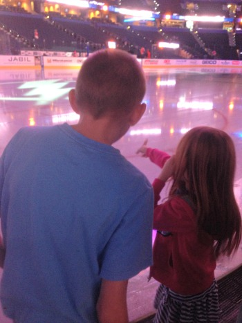Touching the Ice #BoltsSocial