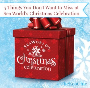 Sea World's Christmas Celebration 2015