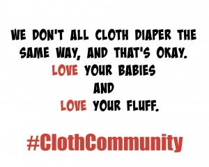 Celebrate Diversity & Unity Through Cloth Diapers #ClothCommunity