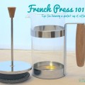 French Press 101 TheEcoChic