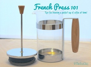 French Press 101 – How to brew a perfect cup of coffee at home!