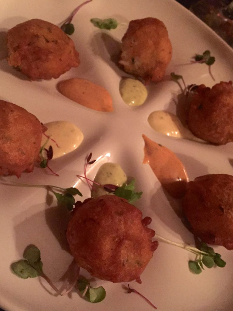 Abita Beer-Battered Crab Beignets