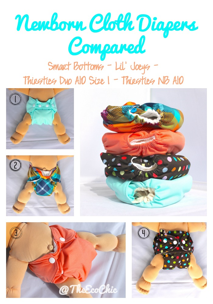 Newborn Cloth Diapers Compared