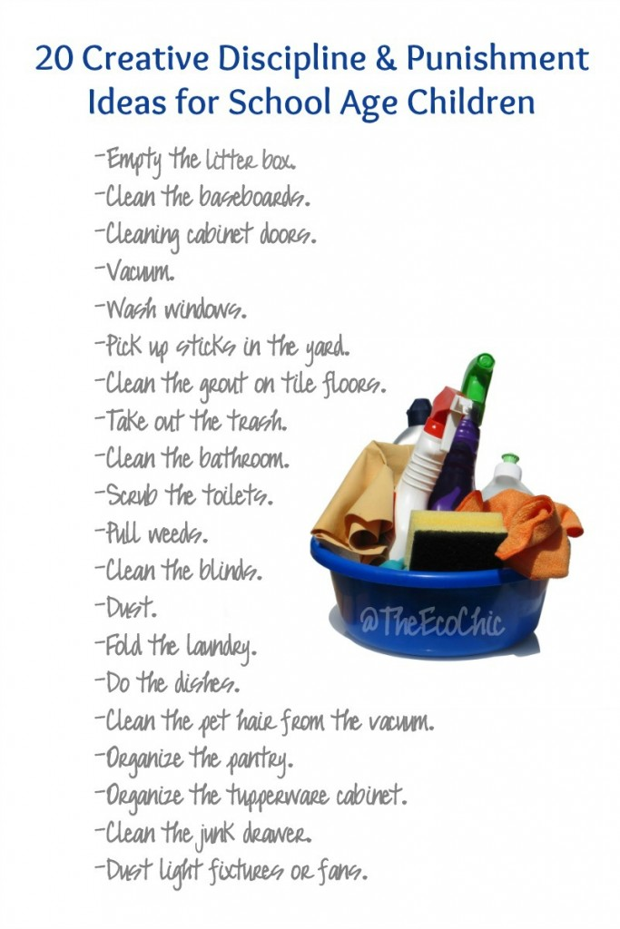 20 Creative Discipline and Punishment Ideas for School Age Kids