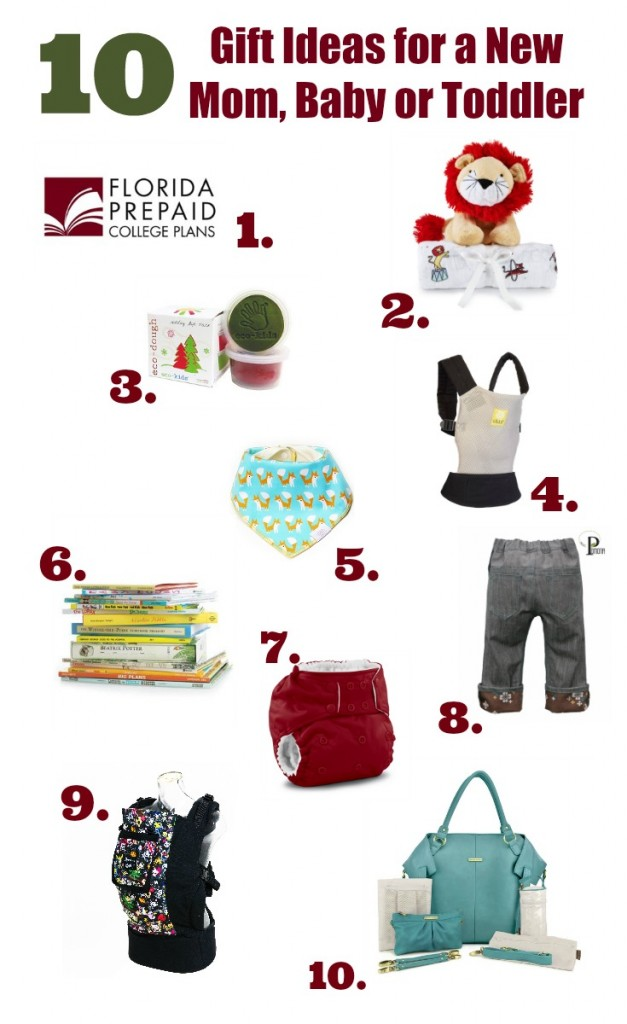 Gift Ideas For Newborn Baby And Mother : Holiday gift ideas for a new mom baby toddler