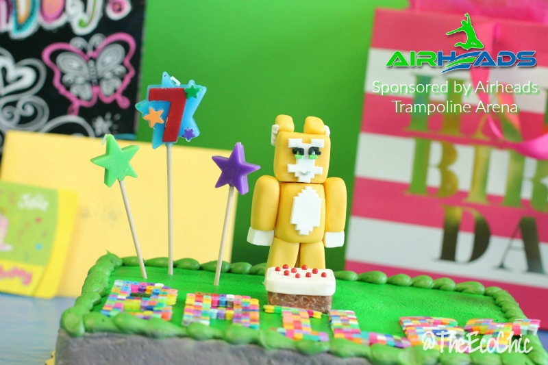 Stampy Cat Birthday Cake Sponsored by Airheads Trampoline Arena Tampa St Pete