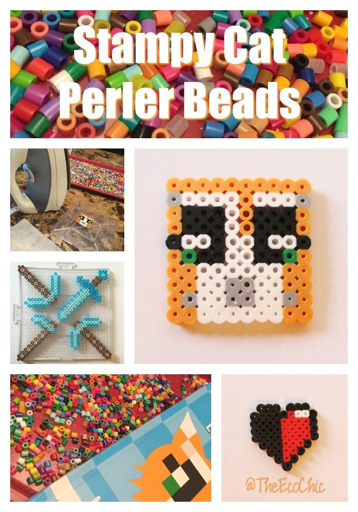 Stampy Cat Perler Beads TheEcoChic