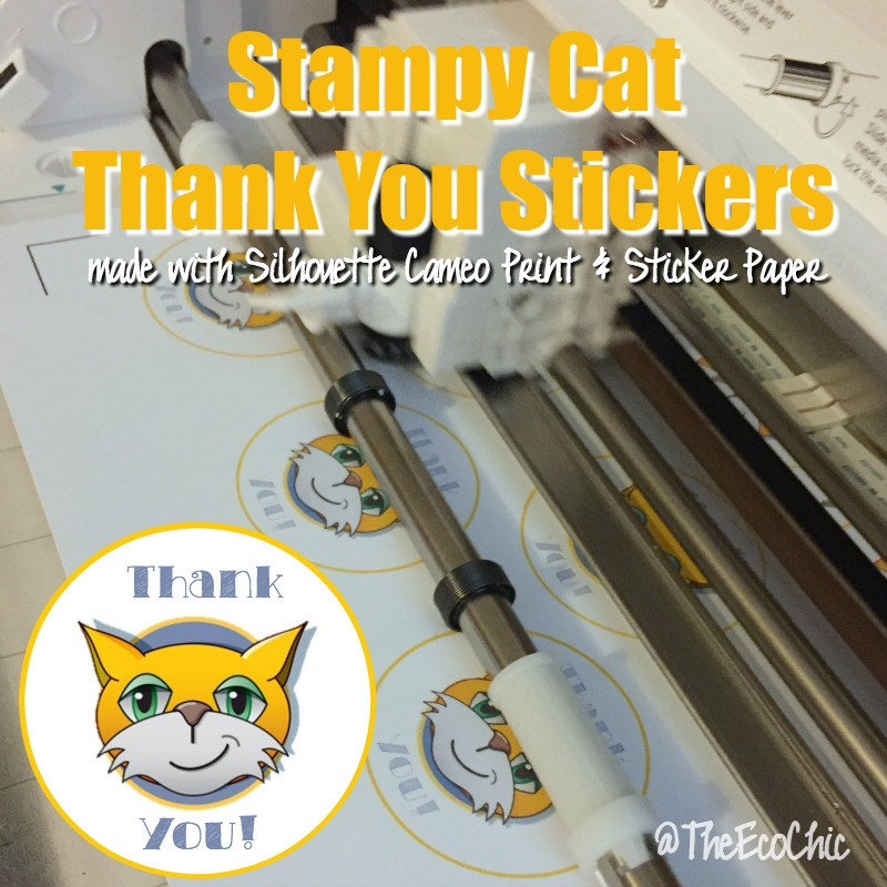 Stampy Cat Stickers TheEcoChic