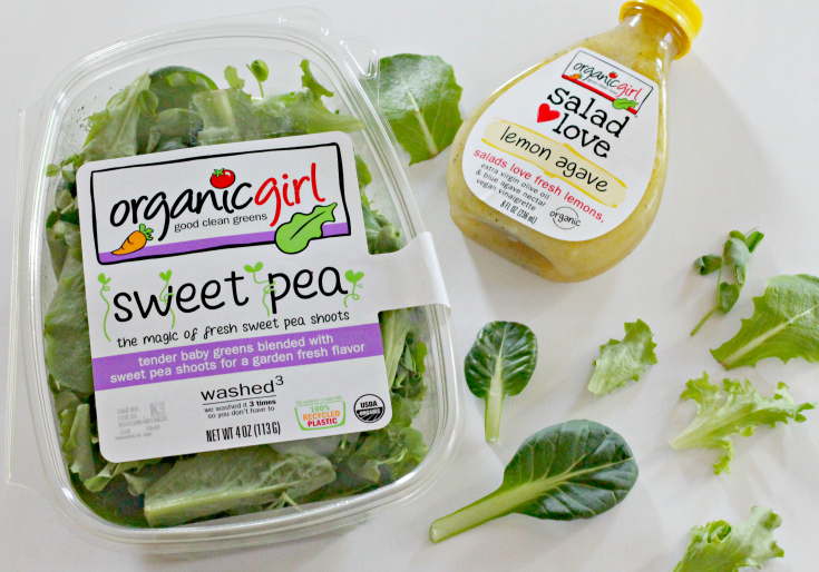 Sweet Pea Lettuce Blend from Organic Girl