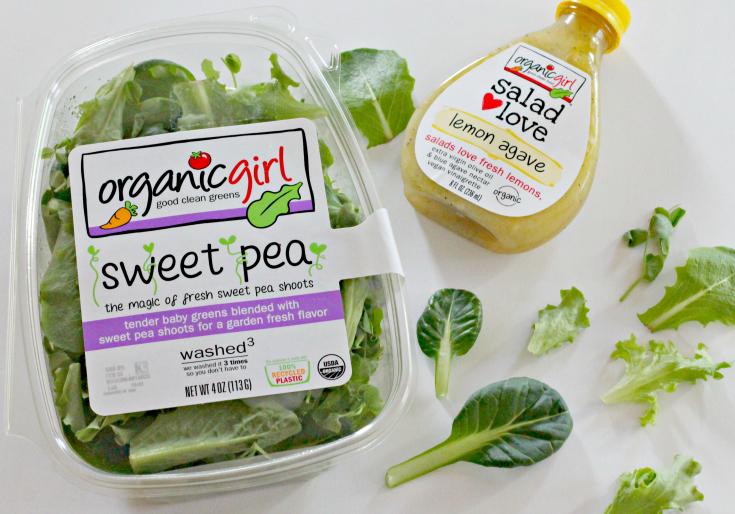 Sweet Pea Lettuce Blend from Organic Girl