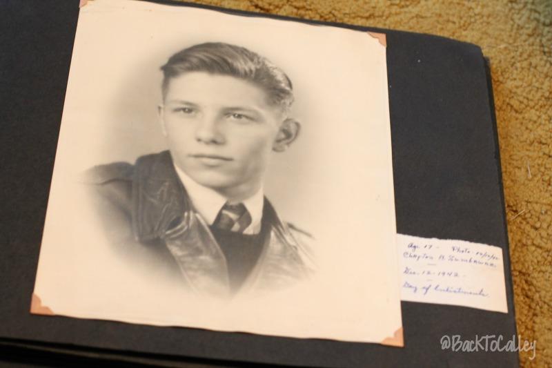 My Grandma - Circa 1944 - Enlistment Day WWII
