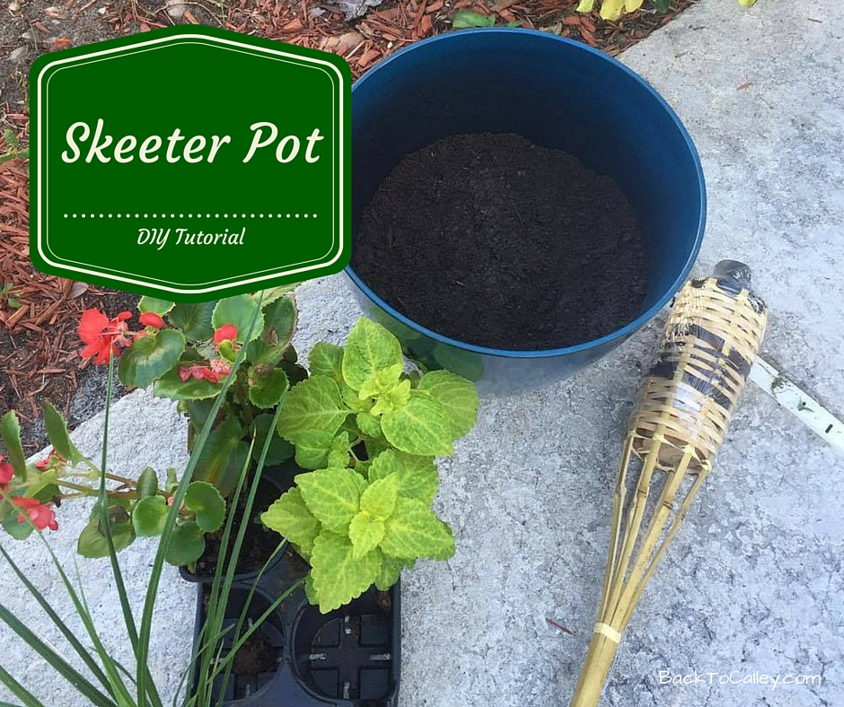 DIY Skeeter Pot