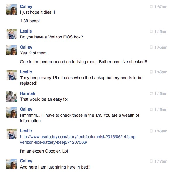 Facebook Chat with Friends BEEP