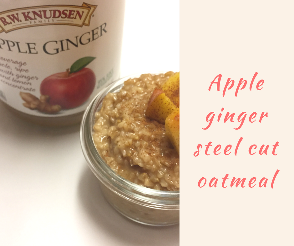 Apple Ginger Oatmeal