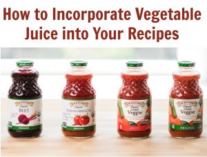 How to Incorporate Vegetable Juice into Your Recipes