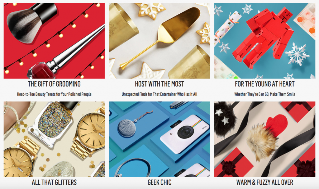 Westfield Holiday Gift Guides
