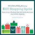 westfield shopping spree