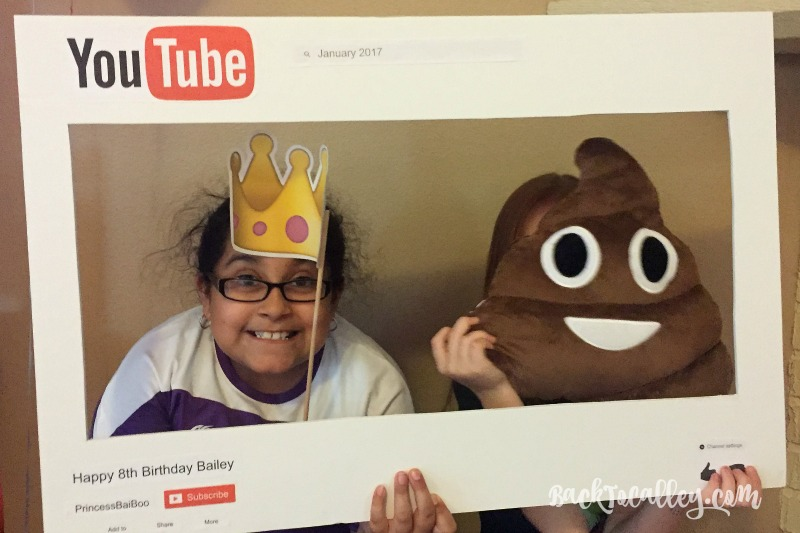 YouTube Themed Birthday Party